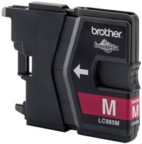 Brother LC985M (Yield: 260 Pages) Magenta Ink Cartridge