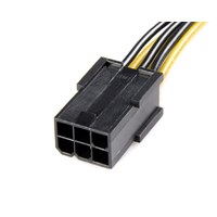 StarTech.com PCI Express 6-pin to 8-pin Power Adaptor Cable