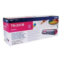 Brother TN-241M (Yield: 1,400 Pages) Magenta Toner Cartridge