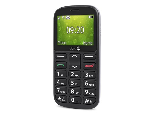 Doro 1360 Mobile Phone (Black)