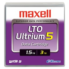 Maxell LTO Ultrium 5 1.5TB/3.0TB Data Cartridge