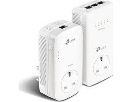 TP-Link AV1300 TL-WPA8630P 1300Mbps Gigabit Passthrough Powerline AC Wi-Fi Kit (White) - V2.0