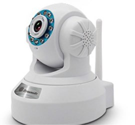 Dynamode DYN-630 IP Wireless Security Camera with Pan, Zoom 8 Infrared LED 5m Distance