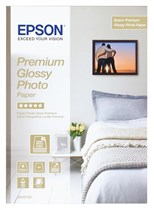 Epson (A4) Premium Glossy Photo Paper (15 Sheets) 255gsm (White)