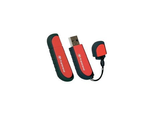 Transcend JetFlash V70 16GB USB 2.0 Drive (Red)