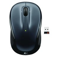 Logitech M325 Wireless Mouse (Dark Silver)