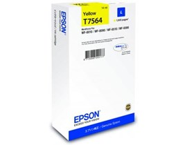 Epson T7564 (Yield 1500 Pages) L Yellow Ink Cartridge (14ml) for WorkForce WF-8XXX Series Printers