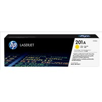 HP 201A (Yield: 1,400 Pages) Yellow Toner Cartridge