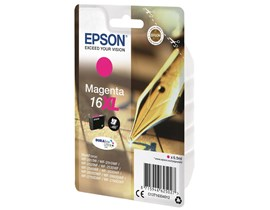 Epson Pen and Crossword 16XL (Yield 450 Pages) DURABrite Ultra Ink Cartridge (Magenta)
