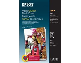Epson Value Glossy Photo A4 Paper (50 Sheets)