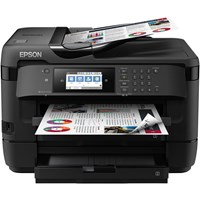 Epson WorkForce WF-7720DTWF (A3) Colour Inkjet Wireless Multifunction Printer (Print/Copy/Scan/Fax) 10.9cm Colour LCD 18ppm (Mono) ISO 10ppm (Colour) ISO 20,000 (MDC)