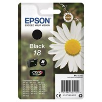 Epson Daisy 18 (Yield 175 Pages) Claria Home Ink Cartridge (Black)