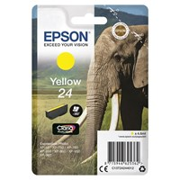 Epson Elephant 24 (non-Tagged) Ink Cartridge (Yellow) for Epson Expression Photo: XP-750 / XP-850