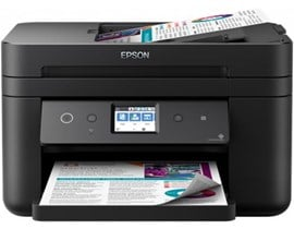 Epson WorkForce WF-2860DWF (A4) Colour Inkjet Printer (Print/Copy/Scan/Fax) 6.1cm Colour LCD 33ppm (Mono) 20ppm (Colour) 3000 (MDC)