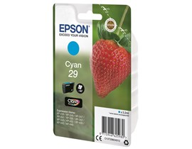 Epson Strawberry 29 (Yield 175 Pages) Claria Home Ink Cartridge (Cyan)