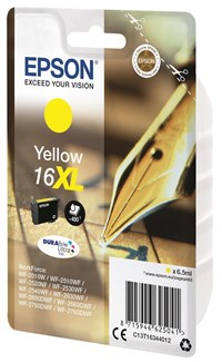 Epson Pen and Crossword 16XL (Yield 450 Pages) DURABrite Ultra Ink Cartridge (Yellow)