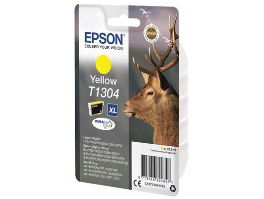 Epson Stag XL T1304 (10.1ml) DURABrite Ultra Ink Cartridge (Yellow)
