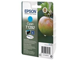 Epson Apple T1292 (7ml) DURABrite Ultra Ink Cartridge (Cyan)
