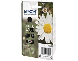 Epson Daisy 18XL Series (T1811) 11.5ml Black Ink Cartridge non-Tagged (Yield 470 Pages) - for XP-30 / XP-102 / XP-202 / XP-205 / XP-302 / XP-305 / XP-402 / XP-405