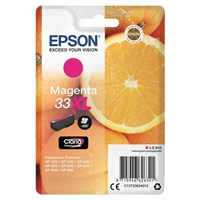 Epson Oranges 33XL (Yield 650 Pages) Claria Premium Ink Cartridge (Magenta)
