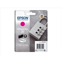 Epson Padlock 35 T3583 (Yield 650 pages) DURABrite Ultra Magenta 9.1ml Ink Cartridge