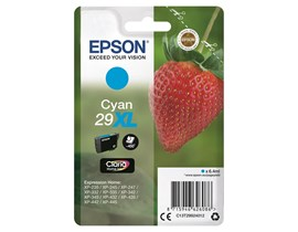 Epson Strawberry 29XL (Yield 450 Pages) Claria Home Ink Cartridge (Cyan)