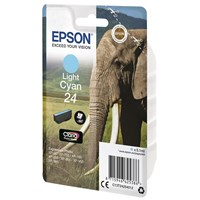 Epson Elephant 24 (non-Tagged) Ink Cartridge (Light Cyan) for Epson Expression Photo: XP-750 / XP-850
