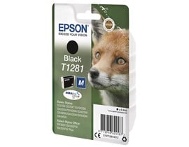 Epson Fox T1281 (5.9ml) DURABrite Ultra Ink Cartridge (Black)