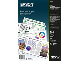 Epson (A4) 80g/m2 Business Paper (1 x Pack of 500 Sheets)