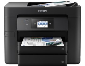 Epson WorkForce Pro WF-4730DTWF (A4) Colour Inkjet Multifunction Printer (Print/Copy/Scan/Fax) 6.8cm LCD Touchscreen 20ppm (Mono) 20ppm (Colour) 25,000 (MDC)