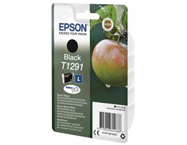 Epson Apple T1291 (11.2ml) DURABrite Ultra Ink Cartridge (Black)