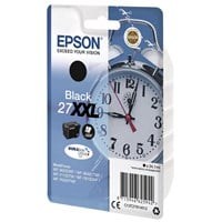 Epson Alarm Clock 27XXL (Yield: 2,200 Pages) Extra High Yield DURABrite Black Ink Cartridge