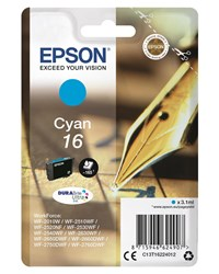 Epson Pen and Crossword 16 (Yield 165 Pages) DURABrite Ultra Ink Cartridge (Cyan)