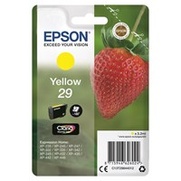 Epson Strawberry 29 (Yield 175 Pages) Claria Home Ink Cartridge (Yellow)