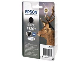 Epson T1301 Black Ink Cartridge (Retail Packed, Untagged) for Stylus Office BX525WD/BX625FWD/Stylus SX525WD/SX620FW