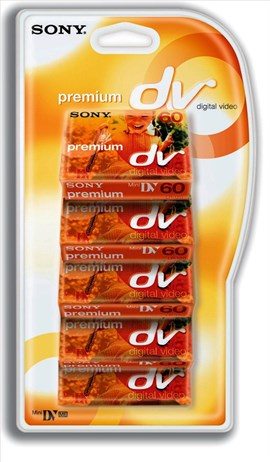 Sony Mini DV 60min 5 Pack