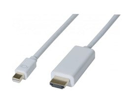 EXC (2m) Mini DisplayPort 1.1 to HDMI DisplayPort Cable (White)