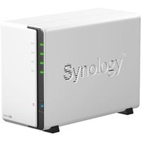 Synology DiskStation DS213air 4TB (2 x 2TB) 2-Bay NAS Server with Built in Wi-Fi and WD Red Hard Disk Drives