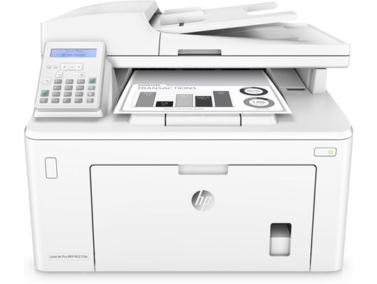 HP LaserJet Pro M227fdn (A4) Mono Laser Multifunction Printer (Print/Copy/Scan/Fax) 256MB 2-line LCD 28ppm 30,000 (MDC)