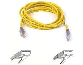Belkin 3m CAT5E Crossover Cable (Yellow)