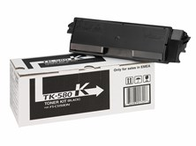 Kyocera TK-580K Toner Cartridge for FS-C5150DN Colour Printer (Yield 3,500 Pages)