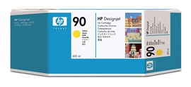 HP 90 Yellow Ink Cartridge (400ml)