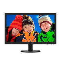 Philips 243V5LHAB 23.6 inch LED Monitor - Full HD, 5ms, Speakers
