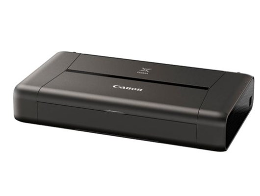 Canon PIXMA iP110 (A4) Wireless Portable Colour Inkjet Photo Printer 9ipm (Mono) 5.8ipm (Colour) with Battery