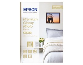 Epson Premium (A3+) 250g/m2 Glossy Photo Paper (White) 1 Pack of 20 Sheets