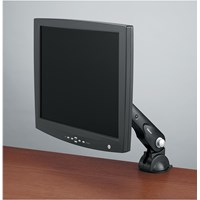 Fellowes Office Suites Standard Monitor Arm (Black) for 13 inch to 21 inch Monitors