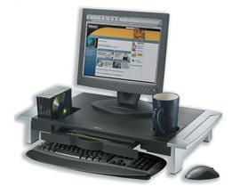 Fellowes Office Suites Premium Monitor Riser