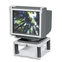 Fellowes Premium Monitor Riser (Platinum) for 21 inch CRT or TFT Monitor