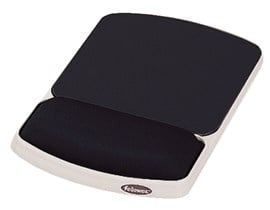 Fellowes Gel Wrist Rest and Mouse Pad (Graphite/Platinum)