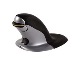 Fellowes Penguin Large Ambidextrous Wireless Vertical Mouse